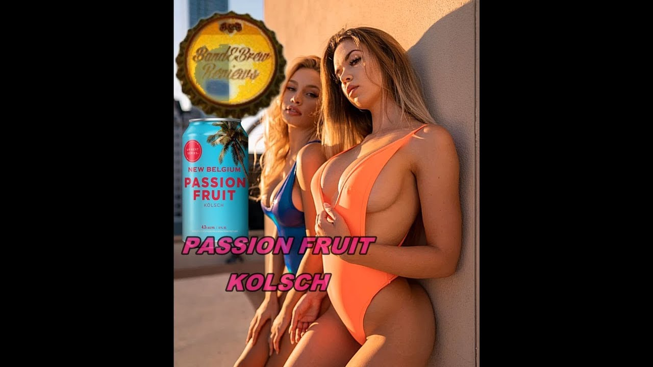 PASSION FRUIT KOLSCH from NEW BELGIUM
