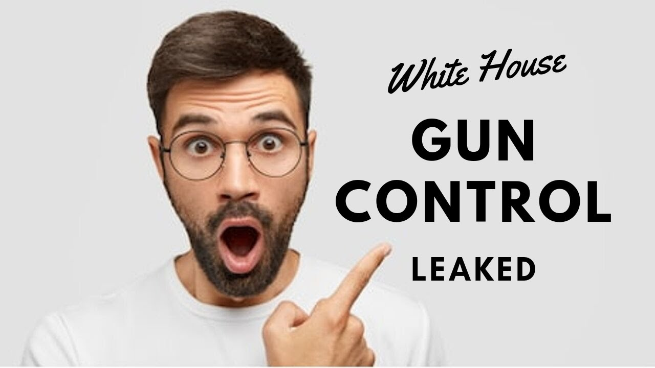 White House and DOJ Guns Control Document Leaked