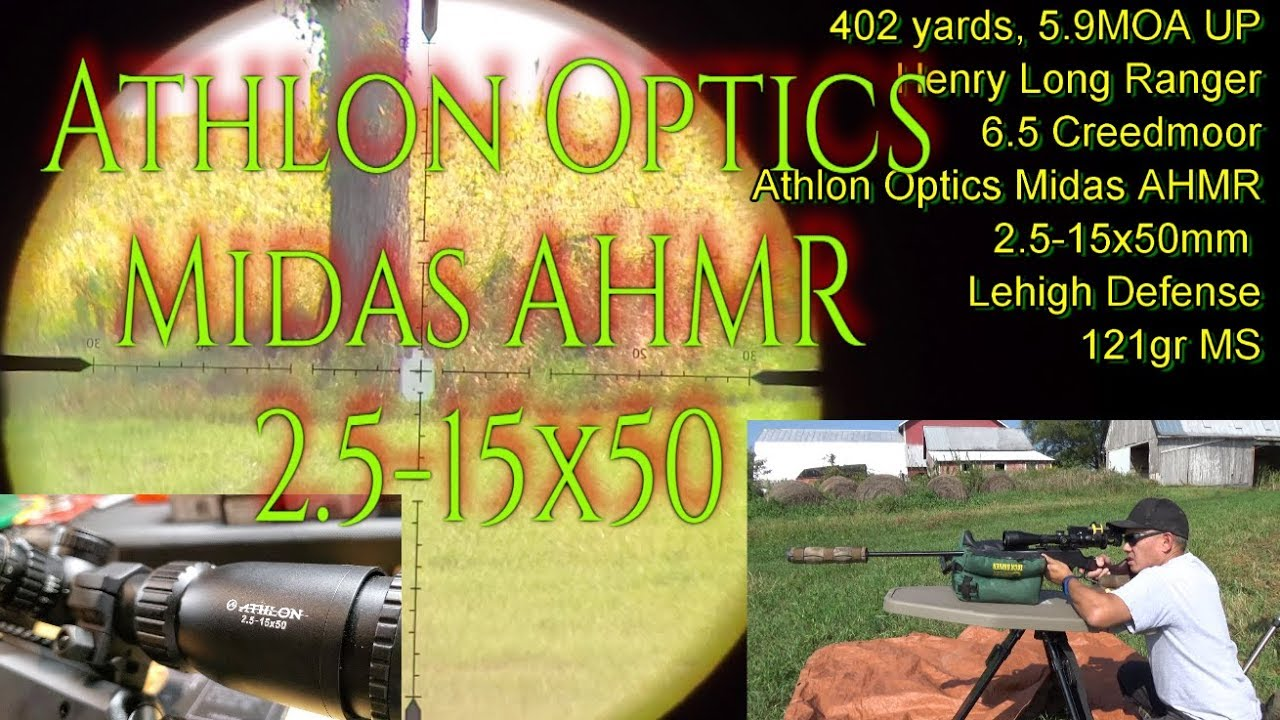 Athlon Optics Midas HMR 2.5-15×50 AHMR MOA 1st Look