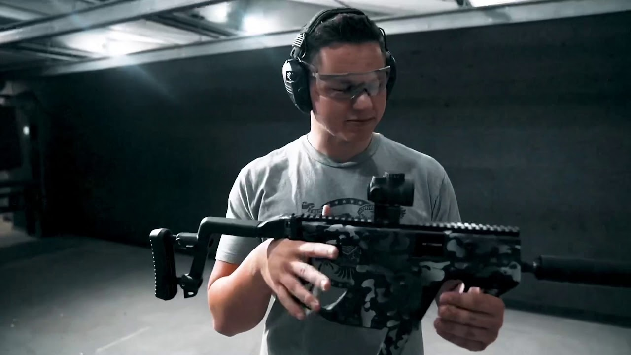 My quick thoughts on the KRISS Vector // With Black Briar Media at ReadyGunner