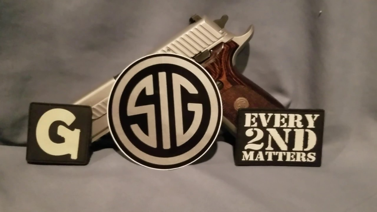 Sig Sauer P226 Elite. #EVERY 2ND MATTERS.