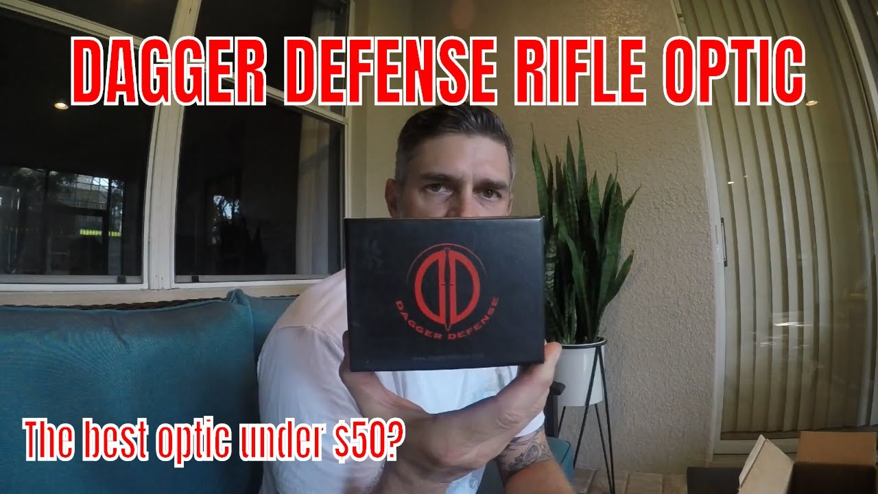 The BEST Optic Under $50 / Dagger Defense / Red Green Dot / Optic
