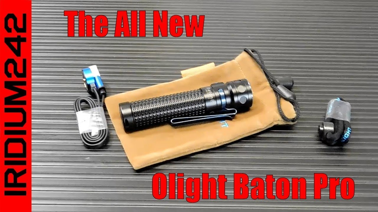 The All New Olight Baton Pro And Sale!