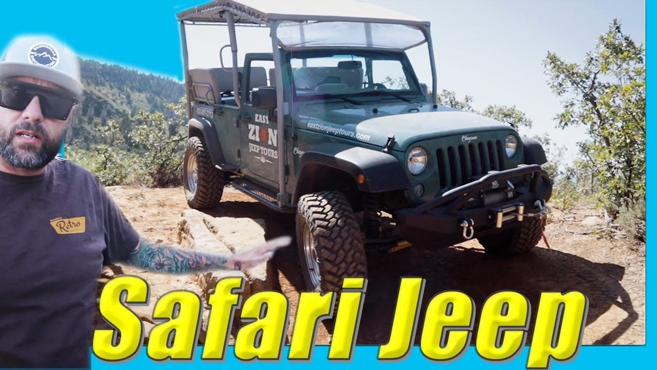 Jeep Rig Walk Around // How Would Yeti Built Modify Wrangler Safari Rigs for Off-Road Adventures?