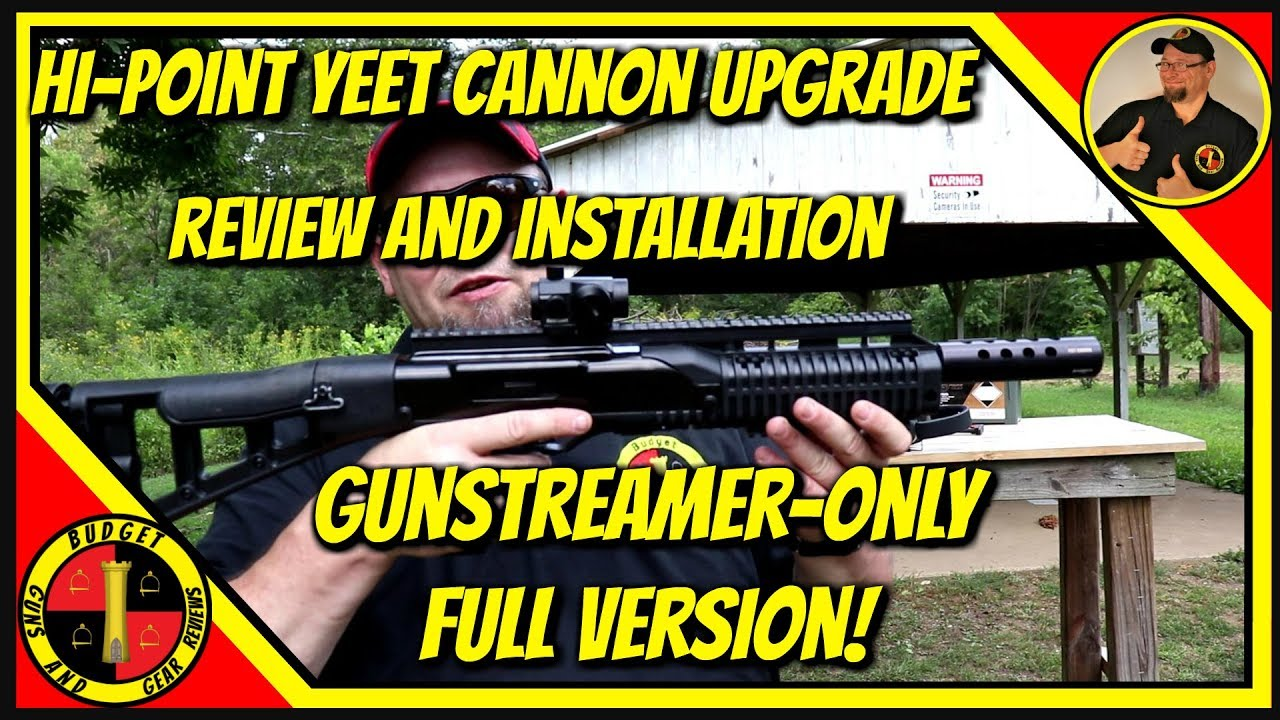 Hi Point Yeet Cannon Upgrades GUNSTREAMER ONLY FULL VERSION!