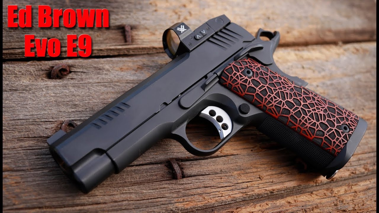 Ed Brown Evo E9 Lightweight 9mm 1911 First Shots & Impressions