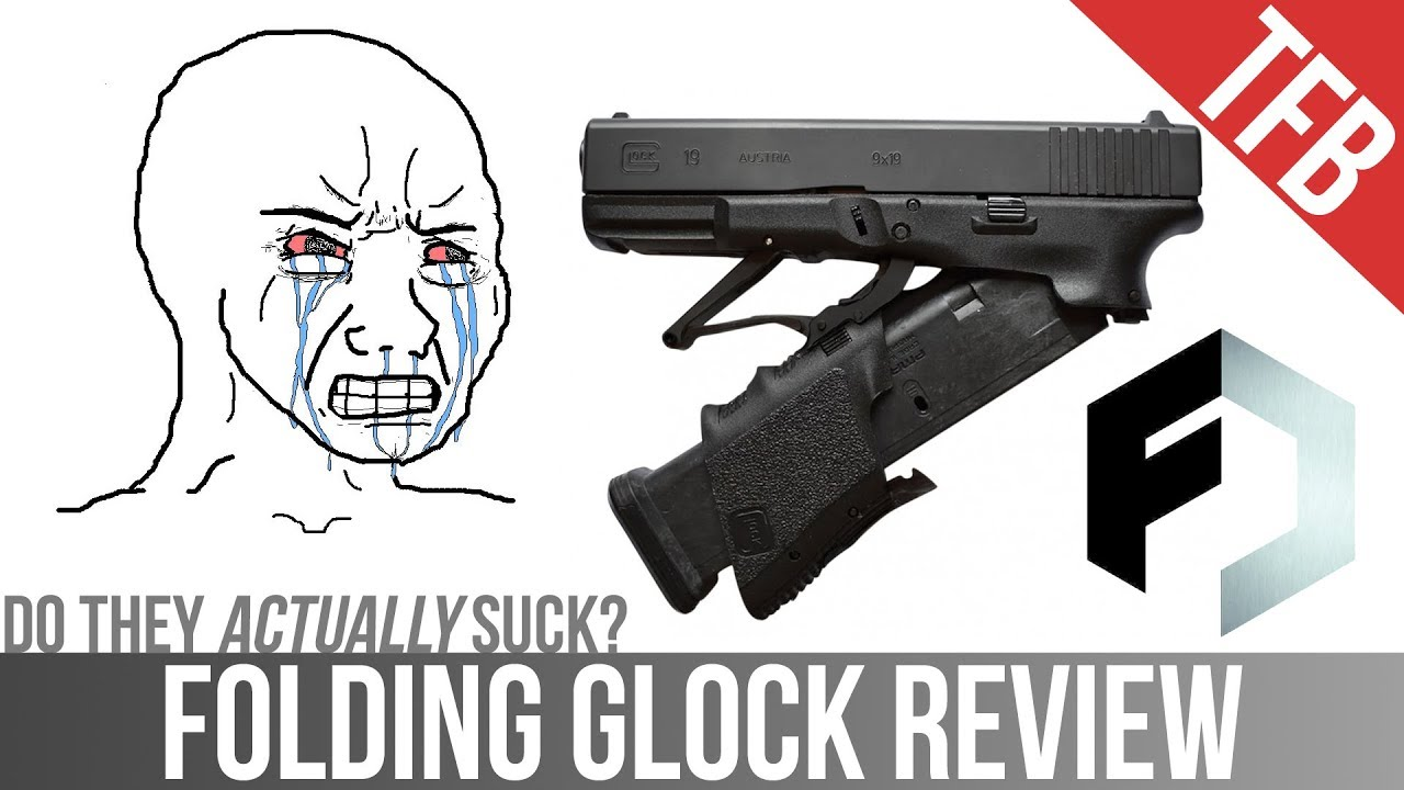 Folding Glock Review: The Full Conceal M3D Pistol