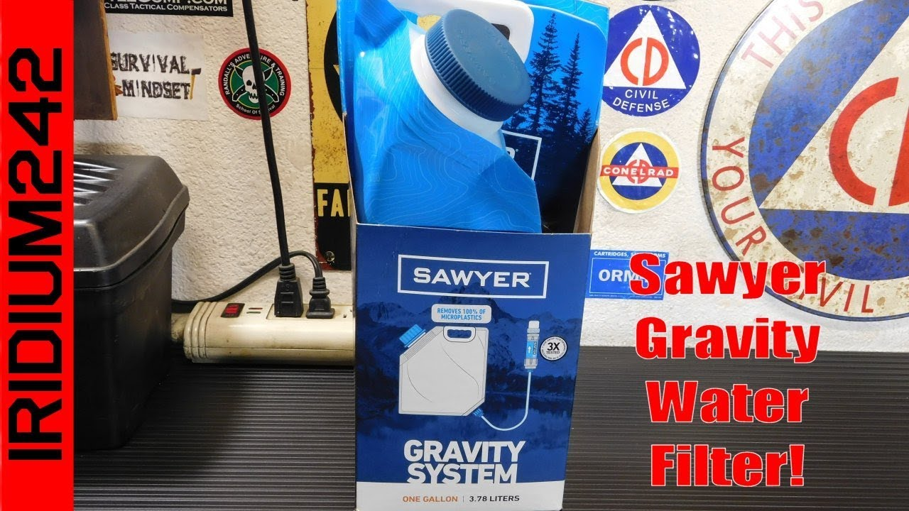 Sawyer One Gallon Gravity Water Filtration System