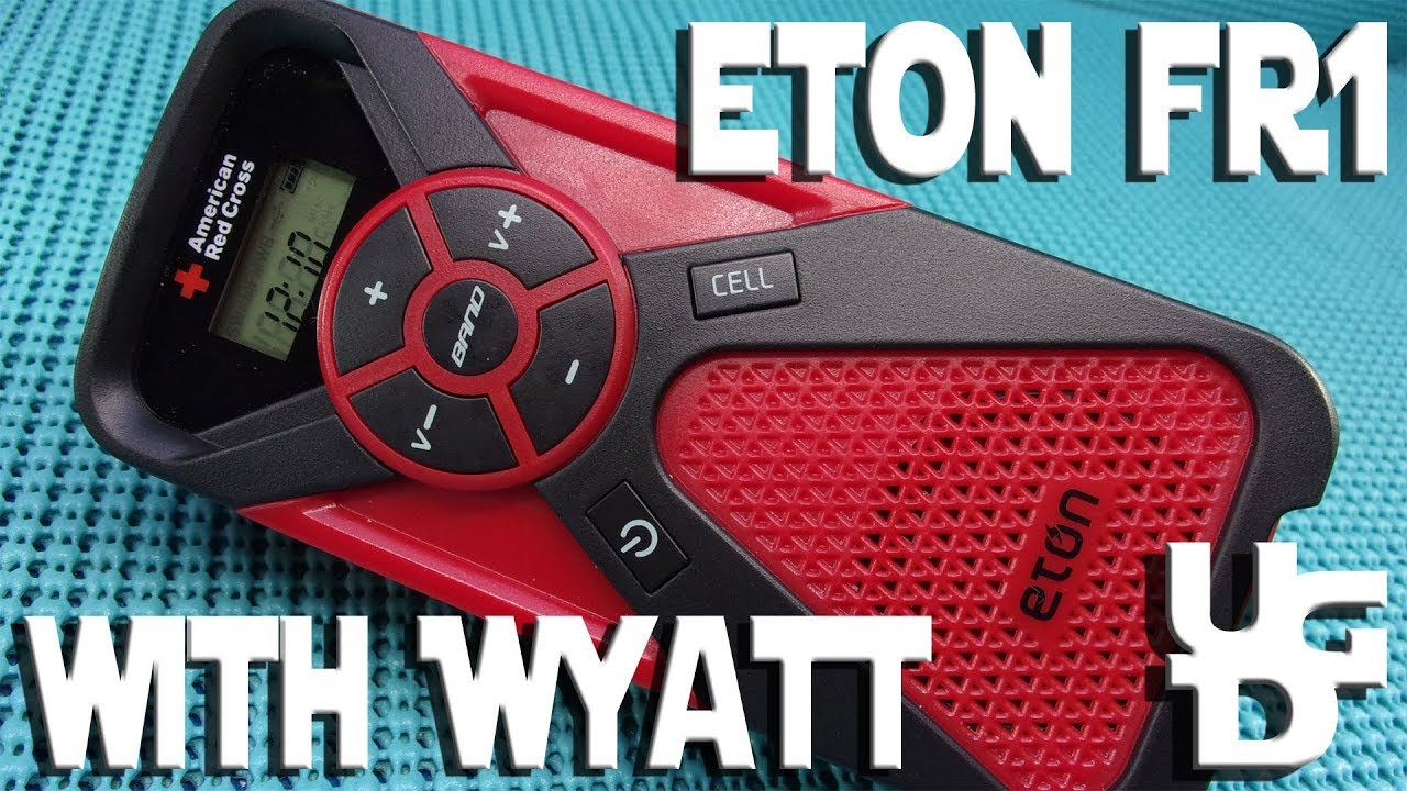 Eton FR1 Multi Power Weather Alert Radio American Red Cross Review with Wyatt