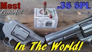 The MOST POWERFUL .38 Special Round in the WORLD