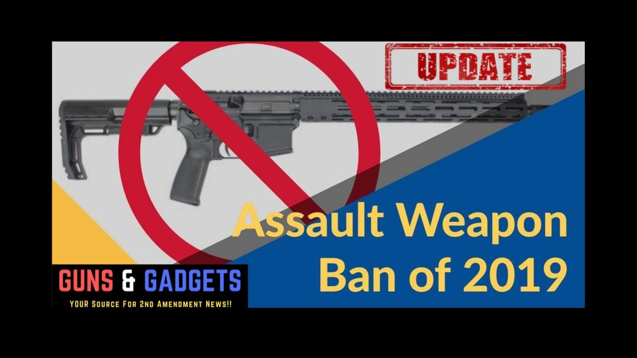 The Assault Weapons Ban of 2019 Gets Committee Vote THIS WEEK