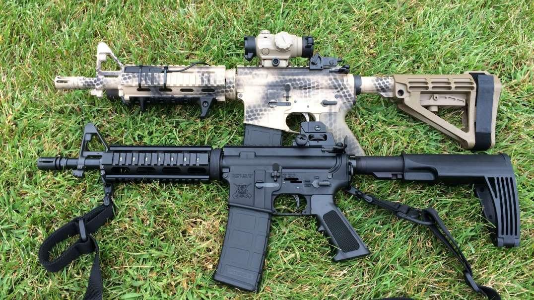 PGS vs PSA ar15 pistol accuracy test