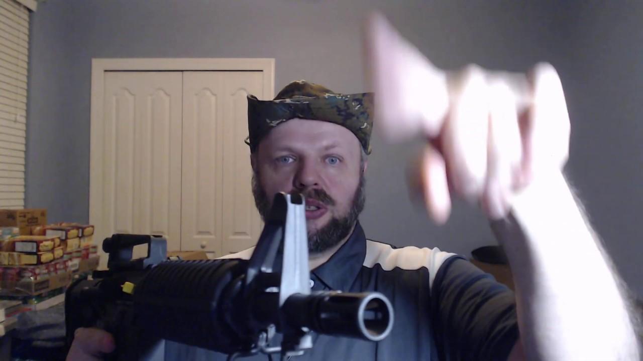 Мой самый новый АР-15 Пистолет от Палметто Стайт. тихое видео