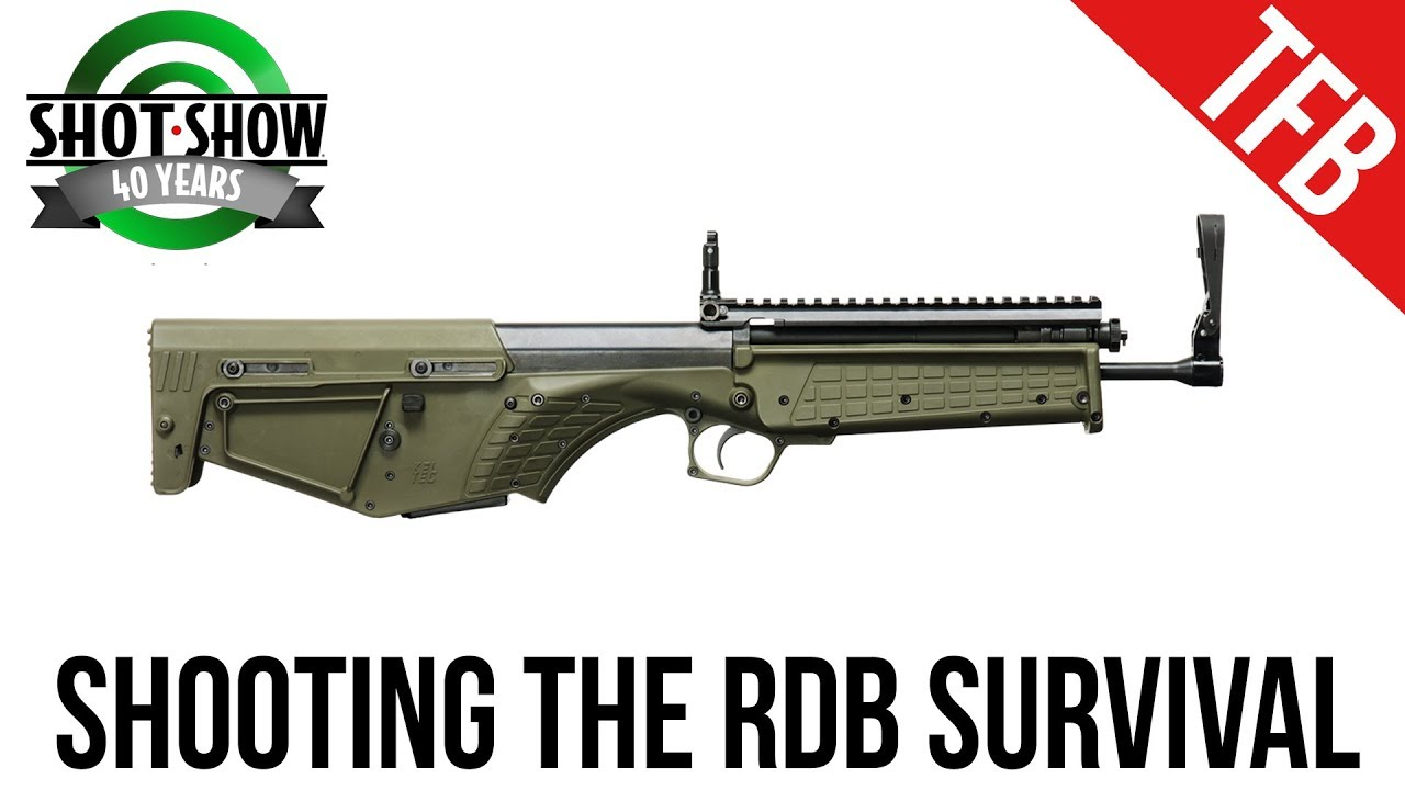 [SHOT 2018] Shooting the Kel-Tec RDB Survival (It's Finally Out!)