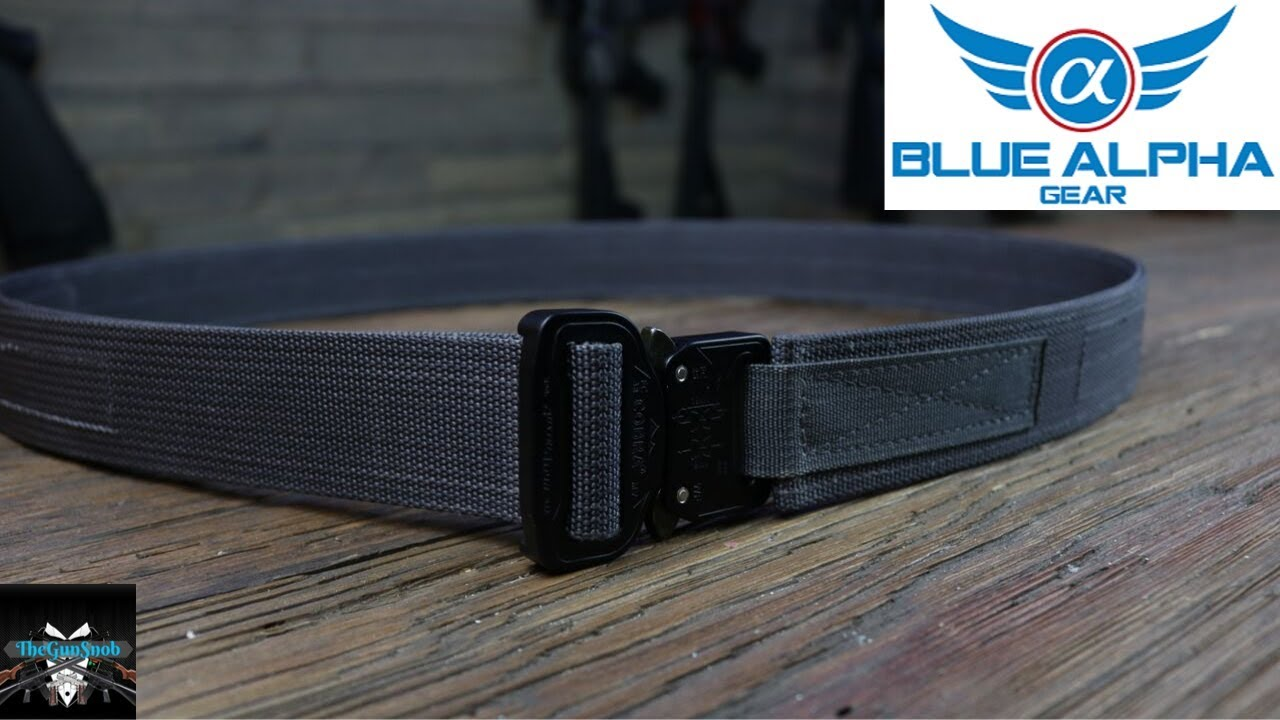 Blue Alpha Gear Hybrid EDC Belt