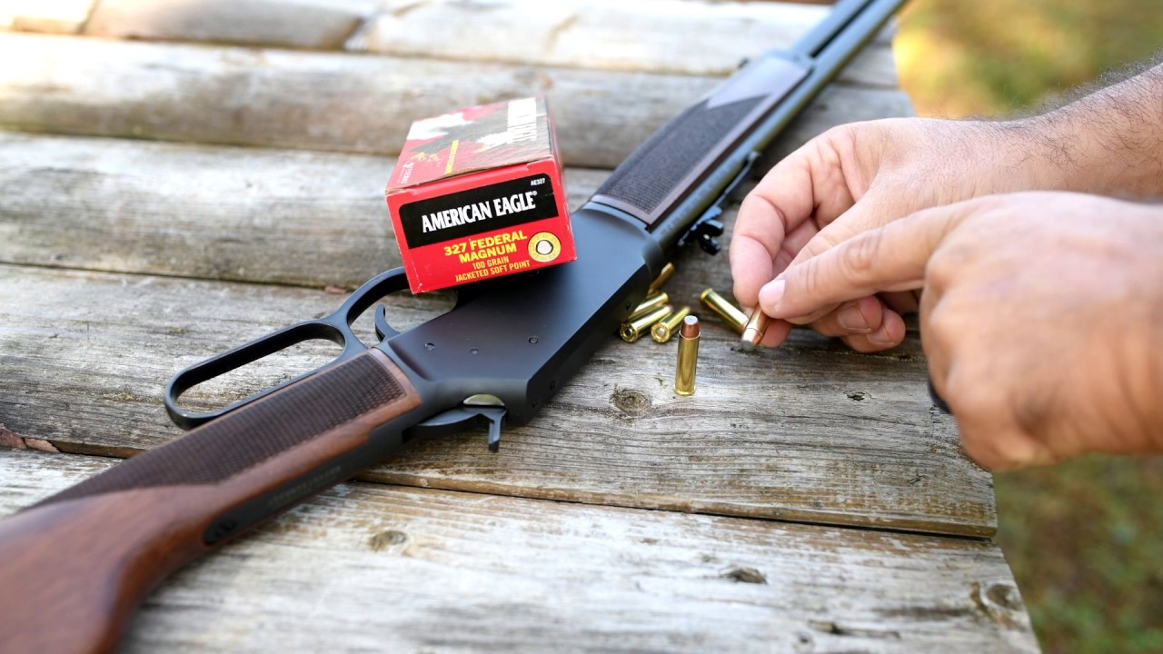 Big Boy Steel Carbine ~ .327 Federal Magnum