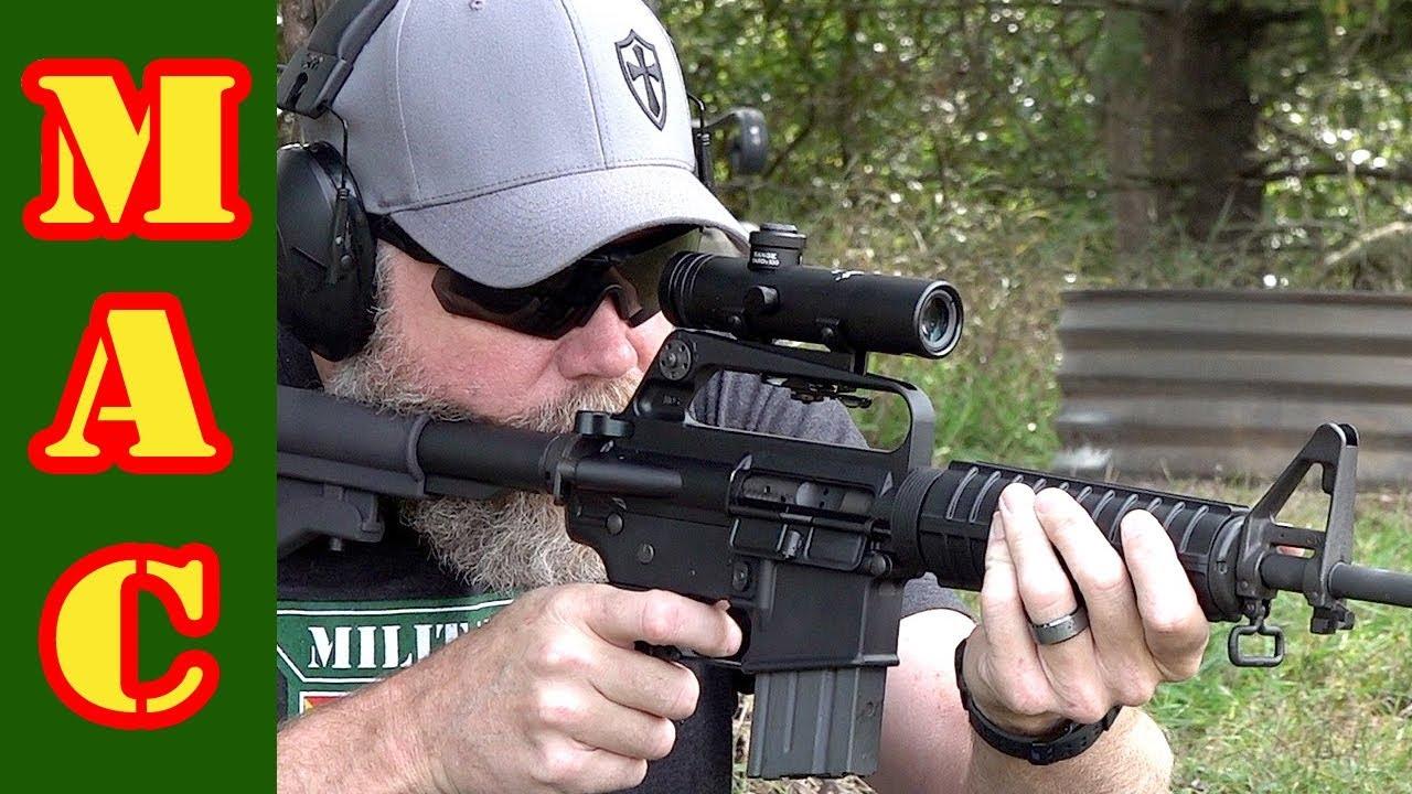 The original Colt AR15 scope is back! Clone builders rejoice!
