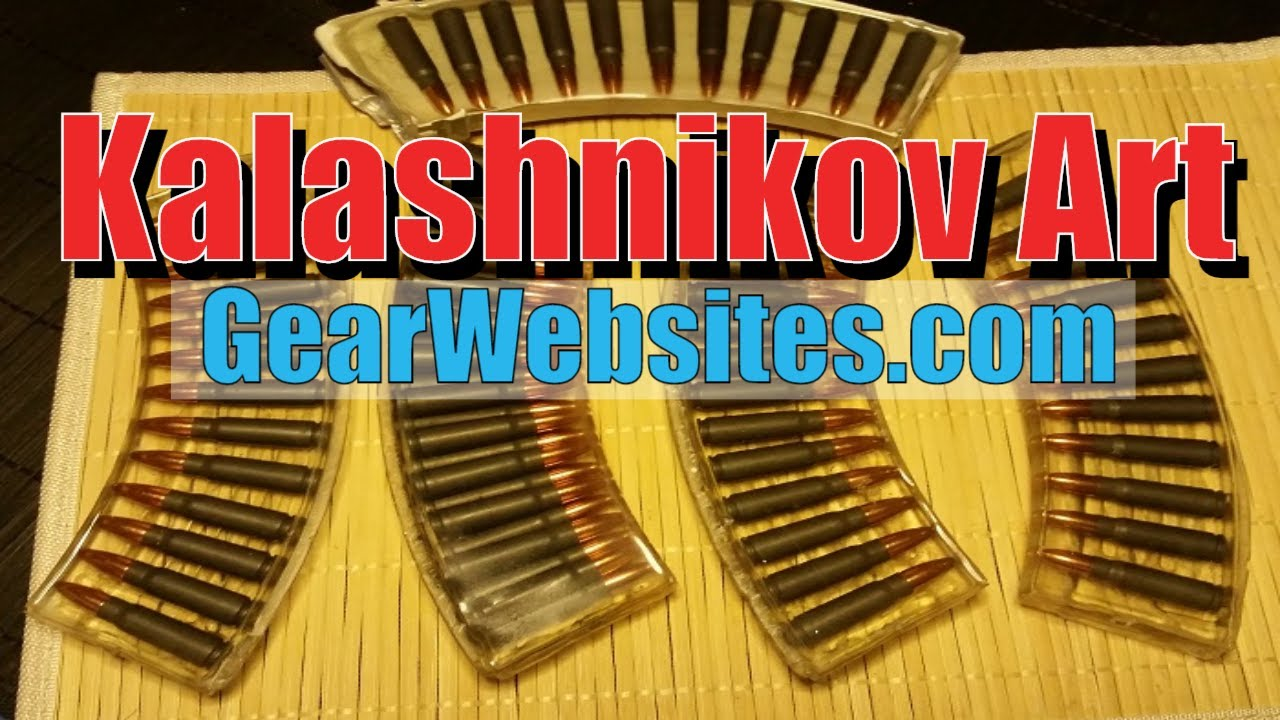 New Kalashnikov Art - Own Your Relic of the Cold War - GearWebsites.com