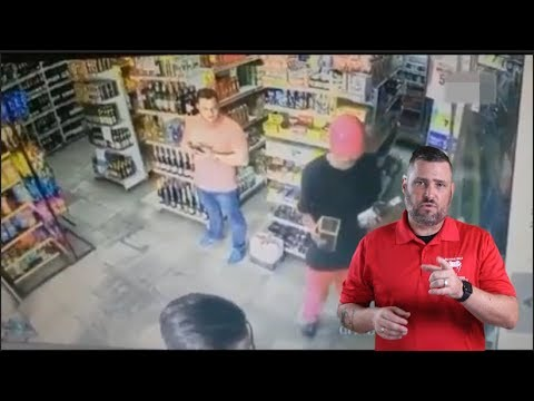 Brazilian Shopkeeper Notices Cues And Reacts