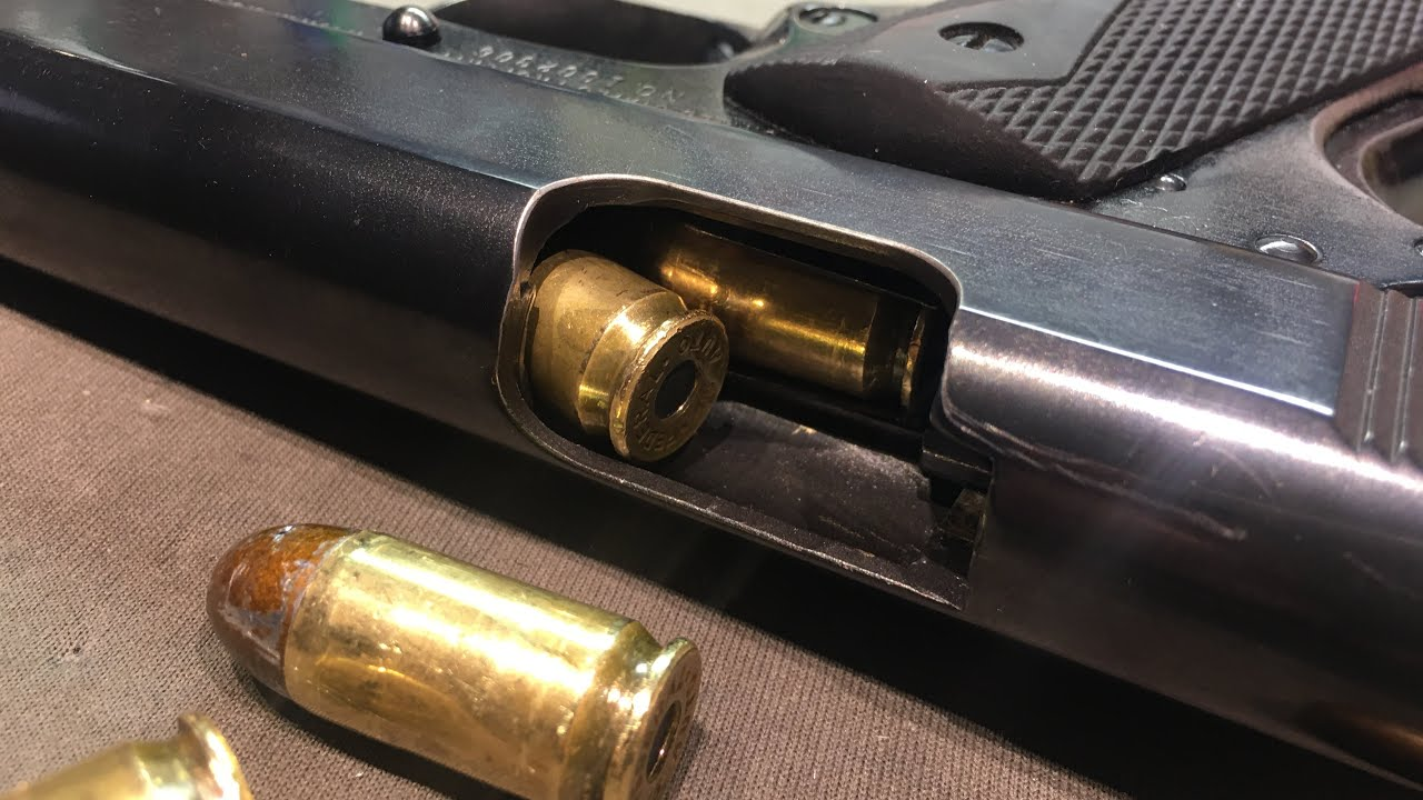 Handgun Malfunction Drills - Snap Caps