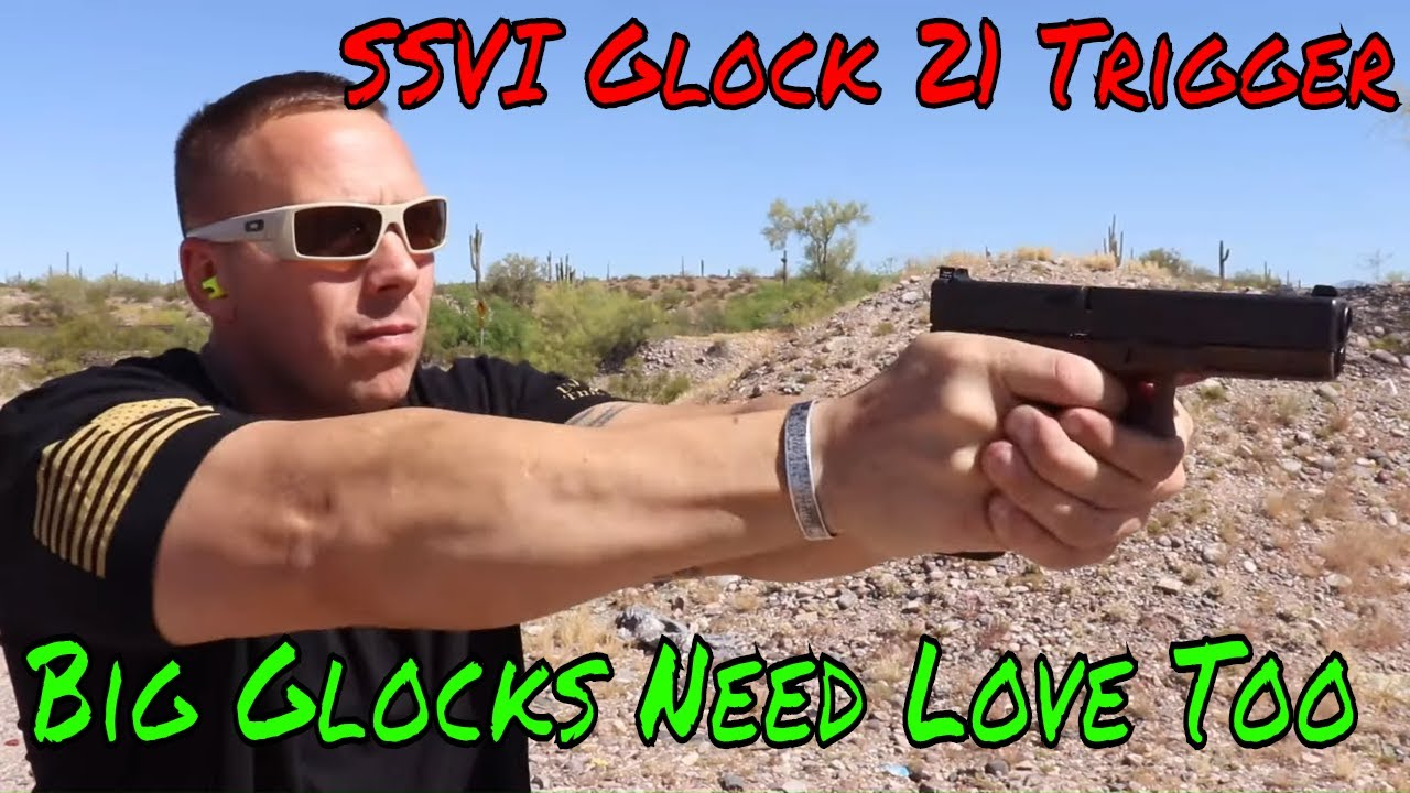 SSVI Glock 21 Trigger Big Glocks Need Love Too