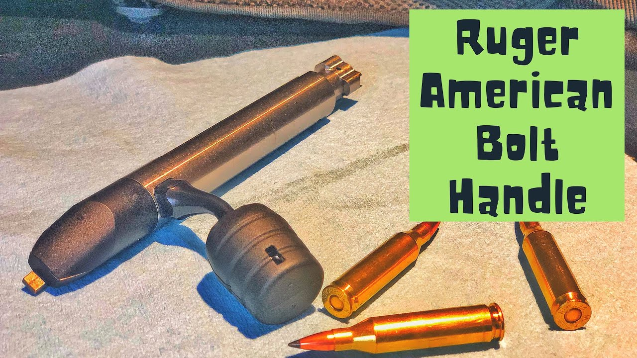 Ruger American Bolt Handle | KRG Bolt Lift