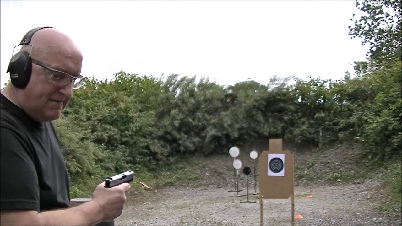 Comparing how the Glock 43 and the Glock 43x Shoot