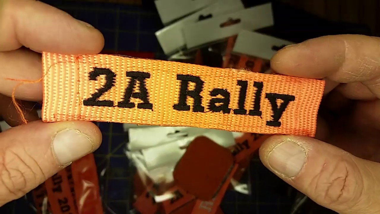 2A Rally Patches - turning trash into treasure