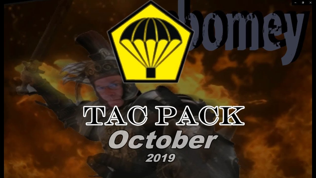 Tac Pack October 2019