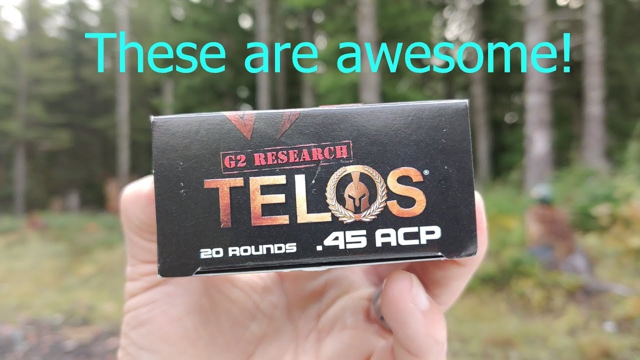 G2 Research Telos .45 acp review