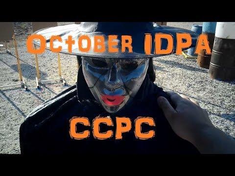 Chiappa Rhino 40DS IDPA @ CCPC Oct 2019