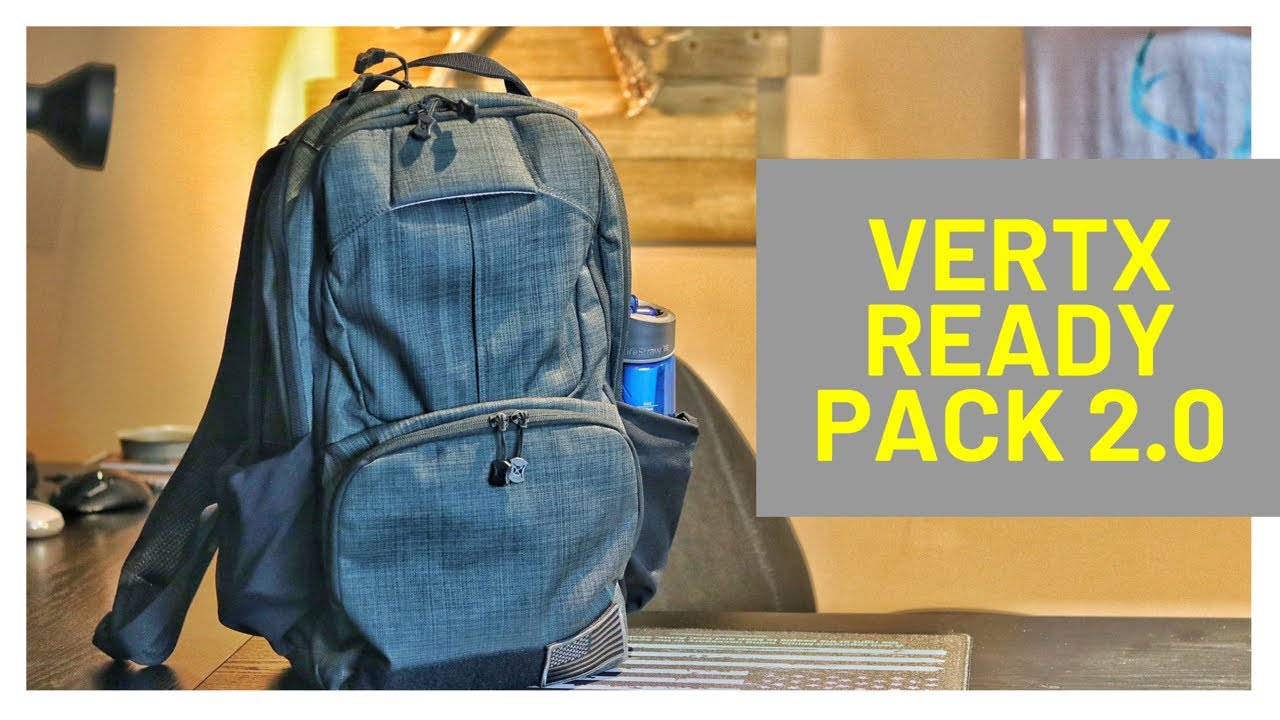 Vertx Ready Pack 2.0 - What's in my EDC Bag