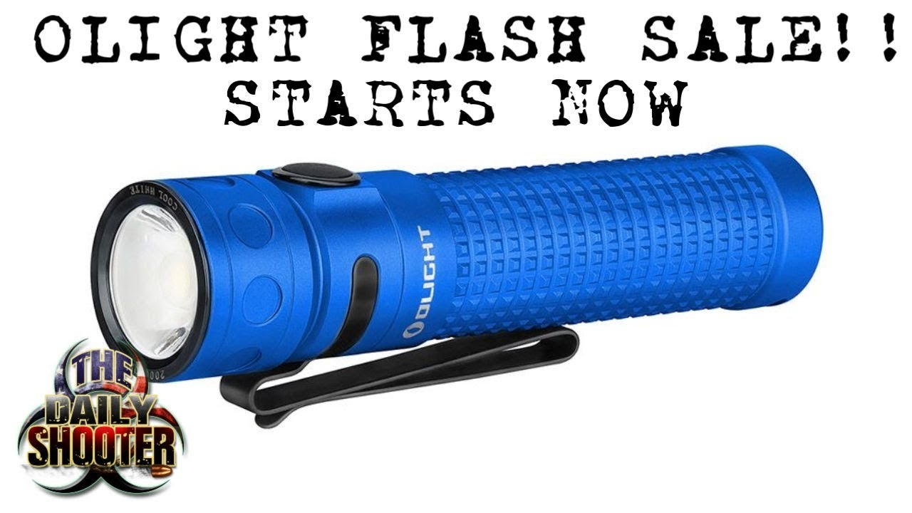 Olight Baton PRO Limited Edition Flash Sale!