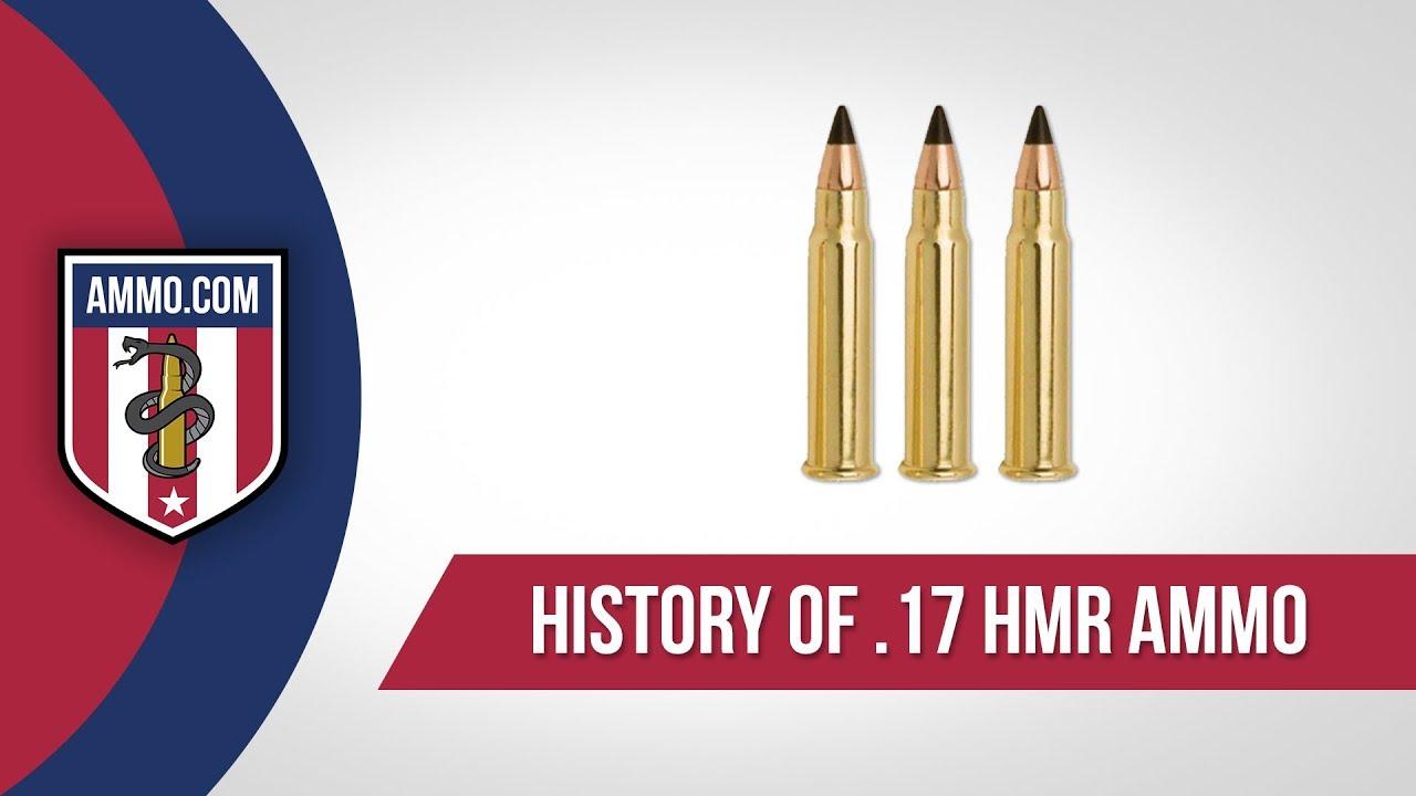 17 HMR Ammo - History