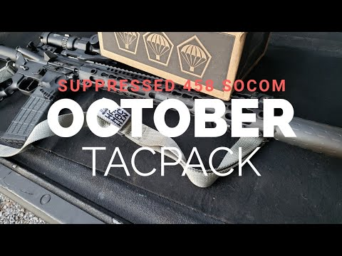 Unconventional TacPack: Suppressed 458 Socom Edition
