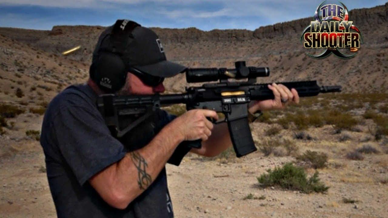 300 Blackout AR Pistol First Shots & Fail