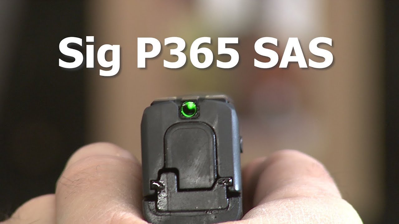 Introduction to the SIG P365 SAS #789