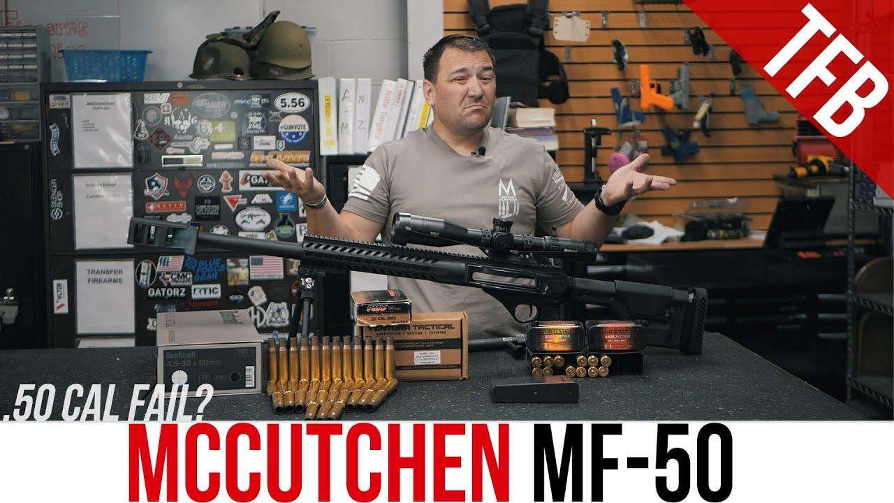 Budget Mag-Fed .50 cal AR Upper: McCutchen MF-50M Review (Kinda)