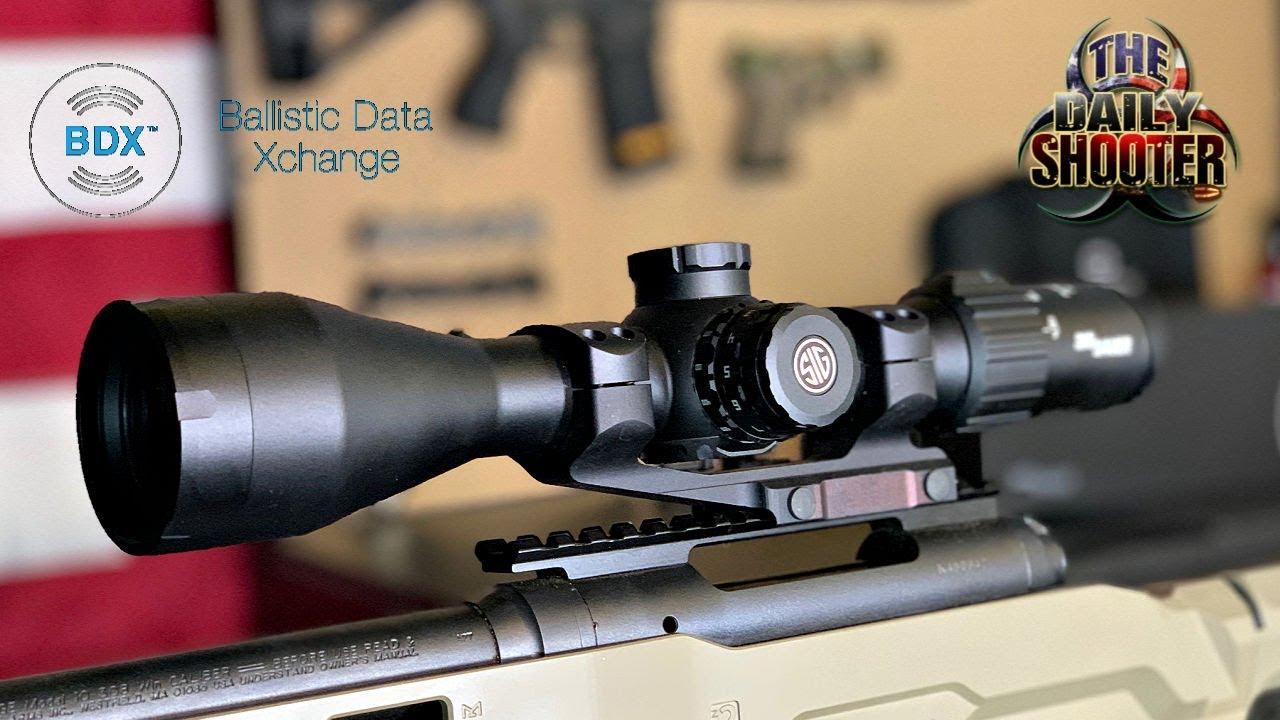 Sig Sauer BDX Scope & Rangefinder Combo Incredible!