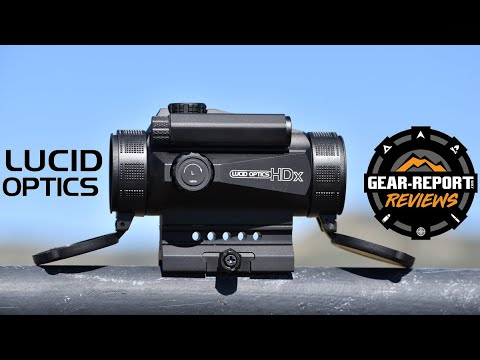 Lucid Optics HDx Red Dot Sight Replaces HD7