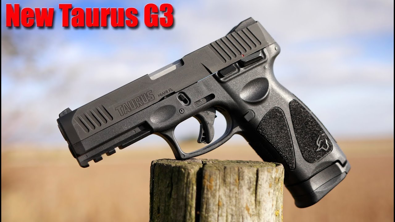 New Taurus G3 9mm First Shots: $250 Pistol
