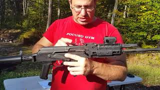AK-47 WASR - 3 MOA with Midwest rail