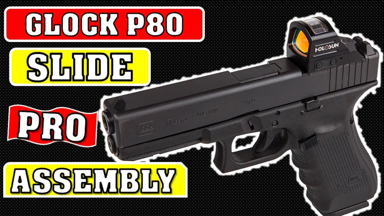 Polymer 80 Glock Pro Slide Assembly