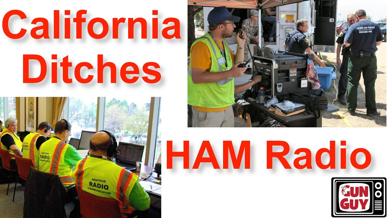 California Puts Citizens at Risk by Ditching HAM Emergency Comms