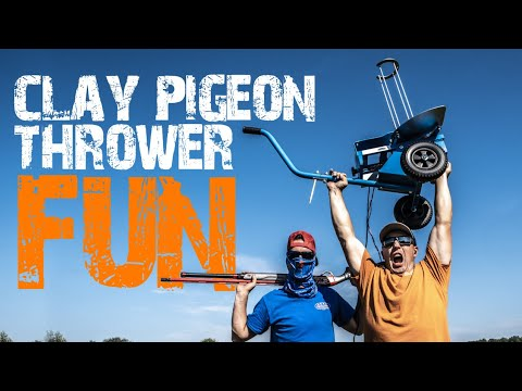 Clay Pigeon Thrower Fun with the Promatic Pigeon | Gould Brothers