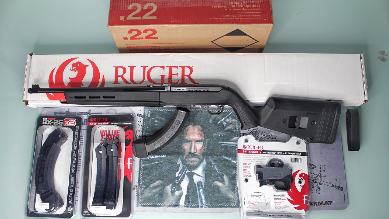 Ruger 10/22 Takedown Magpul Edition Unboxing + Starter Pack!