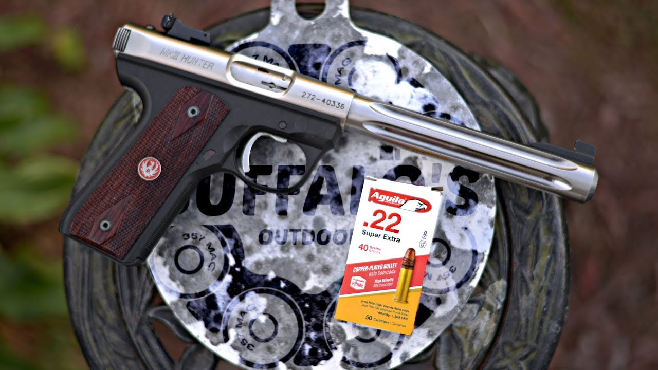 Ruger MK III Hunter - A MAN'S GOT TO KNOW HIS LIMITATIONS IV