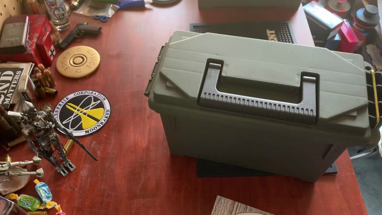 Why I don't like plastic ammo cans and what they are good for