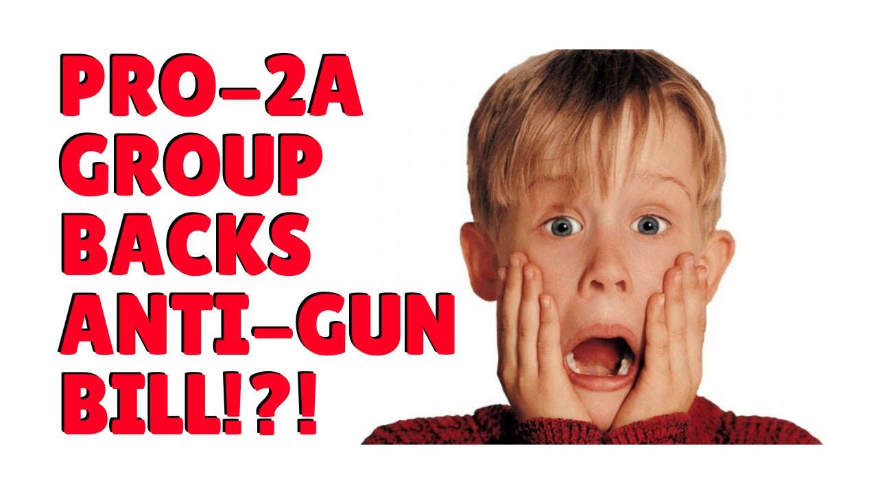 A Pro-2A Group Backs Anti-Gun Bill?!?!