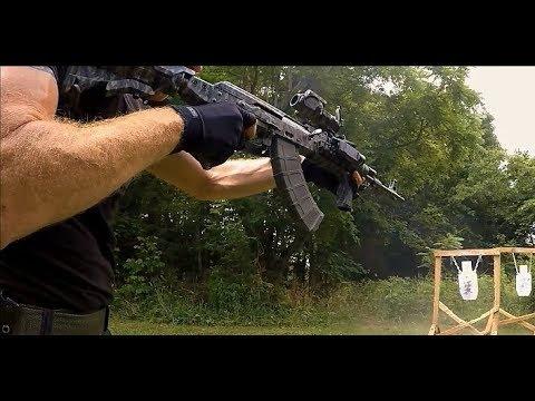Rapid Fire Slo Motion Steel Shotmaking